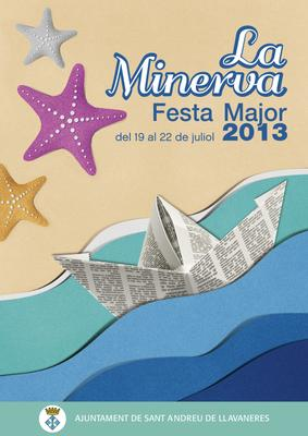 Cartell de la Festa Major de la Minerva 2013